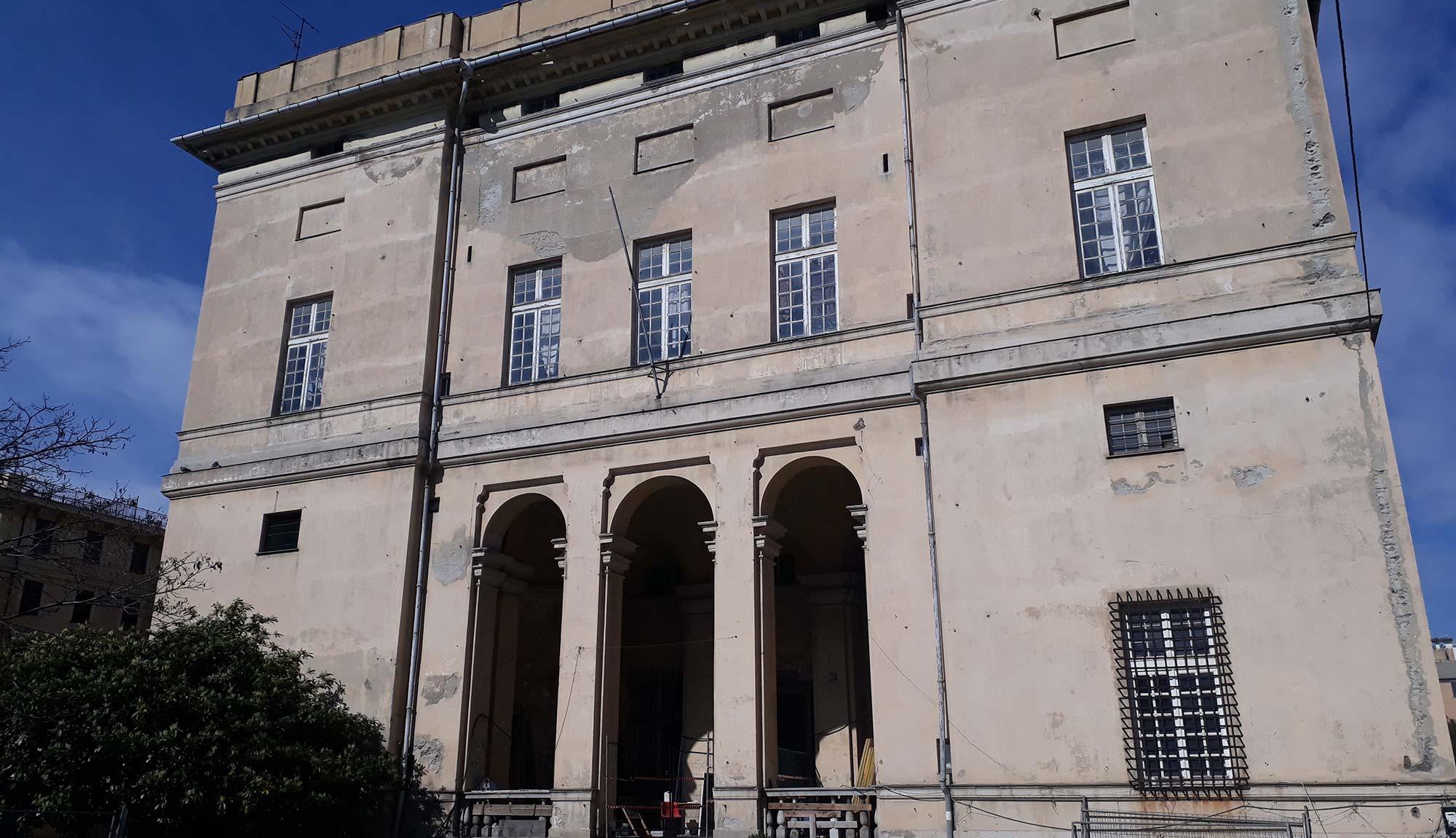 <small>Brownfield</small>Villa Grimaldi La Fortezza