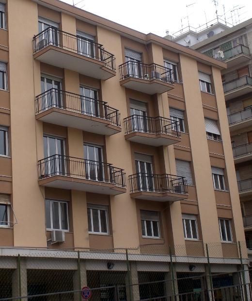 Building in Via Trilussa